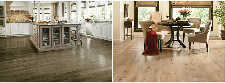 Armstrong Hardwood kitchen dining room